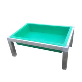 Rechthoekige badschaal op standaard - 30 cm