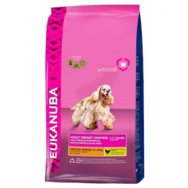 Eukanuba Adult Medium Weight Control, 12 kg
