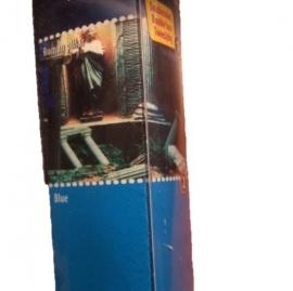 Achtergrondposter 80x40cm Romeinse pilaren/ Blauw