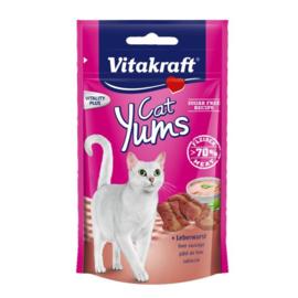Vitakraft Cat Yums met leverworst