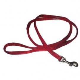 Soft nylon lijn rood 120 cm x 10 mm