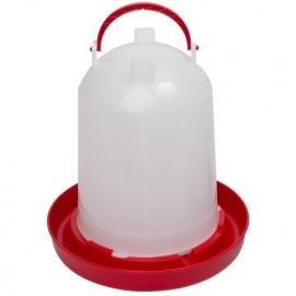 Kunststof watersilo rood/wit