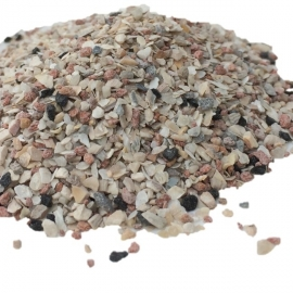 Maagkiezel, grit, mineralen