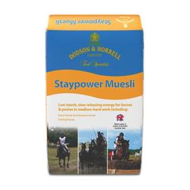 Dodson & Horrell Staypower Muesli (Zware arbeid), 20 kg