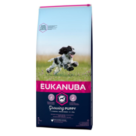 Eukanuba Growing Puppy Medium, 3 kg
