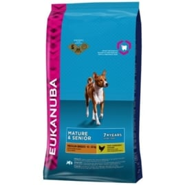 Eukanuba Mature & Senior Medium, 12 kg
