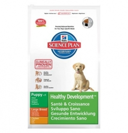 Hill's Science Plan pup large kip 16 kg