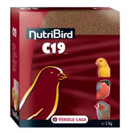 Nutribird C19 kweekpellets voor kanarie-, wildzang- en tropen
