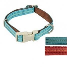 MacLeather halsband Gestikt 26-40 cm