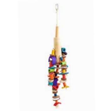 Speelgoed hanger met sepia