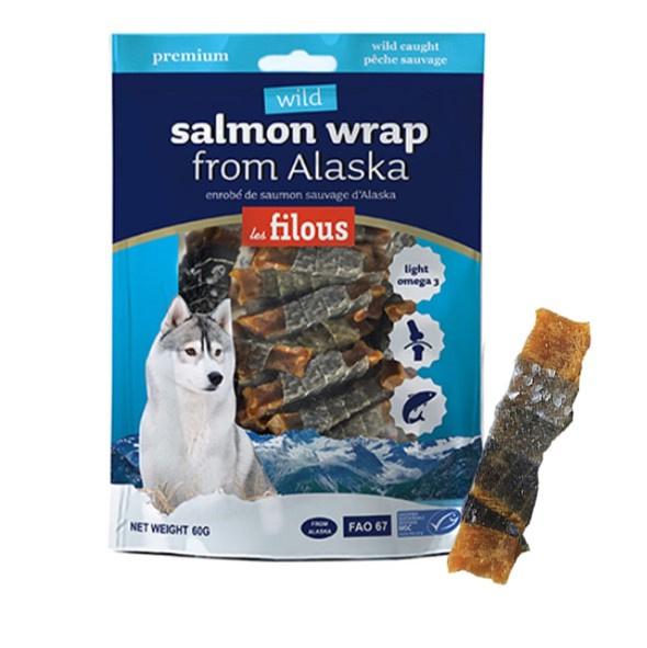 Les Filous Wild - Salmon Wrap from Alaska