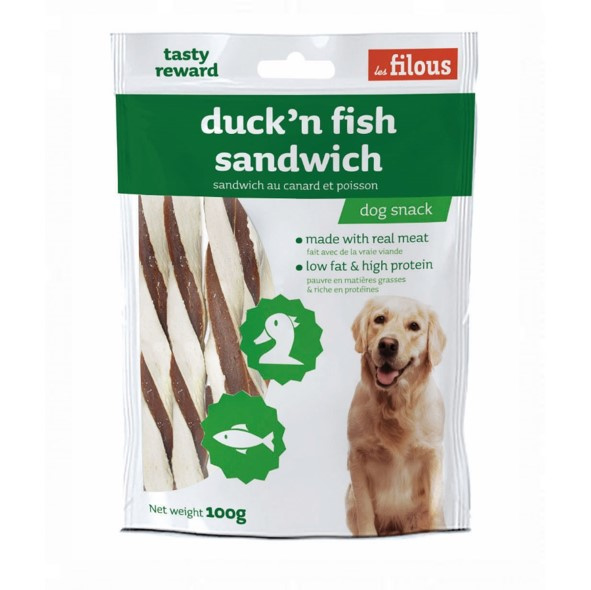 Les Filous - Duck'n Fish Sandwich