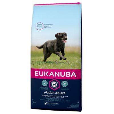 Eukanuba Active Adult Large, 15 kg VOORDEELVERPAKKING