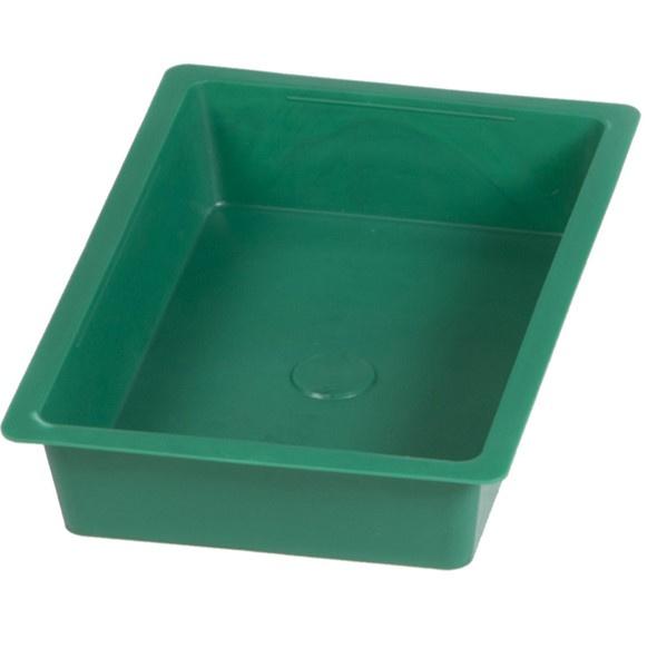 Rechthoekige badschaal of voederbak - 30 cm