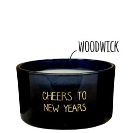 Sojakaars houten lont - Cheers to new years