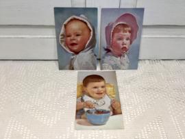 3 kinderkaarten van vroeger