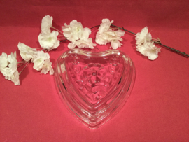 Glazen hart puddingvorm