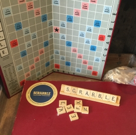 Scrabble oude uitgave