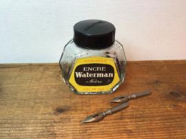 Oude inktpot van Waterman Frankrijk