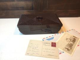 Bakeliet doosje van Philips 1930