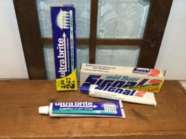 Tandpasta van vroeger
