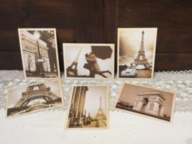 Nostalgische kaarten Parijs (nieuw)
