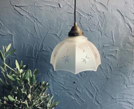 Hanglampje van glas