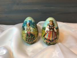 Houten eieren uit Polen