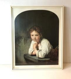 Meisje in het venster, Rembrandt
