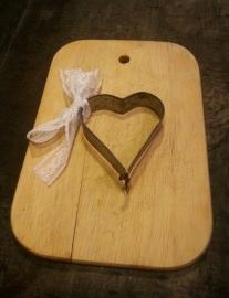 Borstplaat vormpje hart
