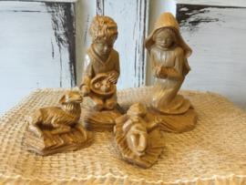 Kerststal beeldjes steen