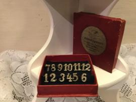 Antieke tafelnummers