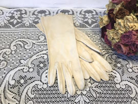 Vintage handschoenen leer