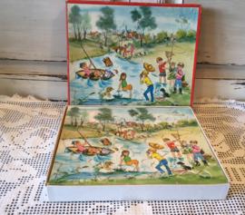 Franse houten puzzel