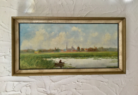 Olieverf schilderij van Kees Meyer