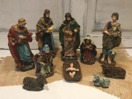 Kerststal figuren polystone