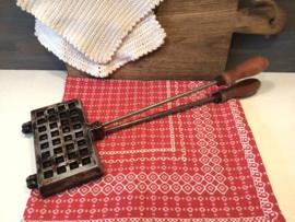 Wafel en tosti ijzers