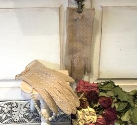 Stijlvolle vintage handschoentjes