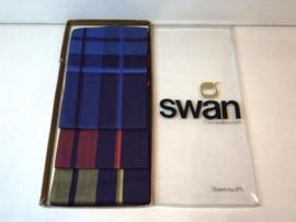 3 Swan zakdoeken