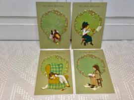 4 beterschaps kaarten