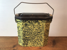 Franse  emaille lunchbox