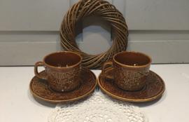 Engelse aardewerk kopjes