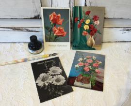Wenskaarten bloemen