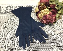 Donkerblauwe handschoentjes