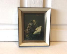 Oude lezende vrouw, Rembrandt