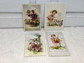 Kinderkaarten van vroeger