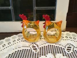 Vintage servetringen voor pasen