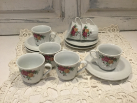 Sloss Amalienburg Porzellan espresso kopjes