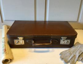 Vintage leren koffer