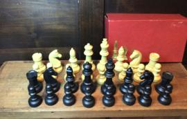 Vintage schaakstukken